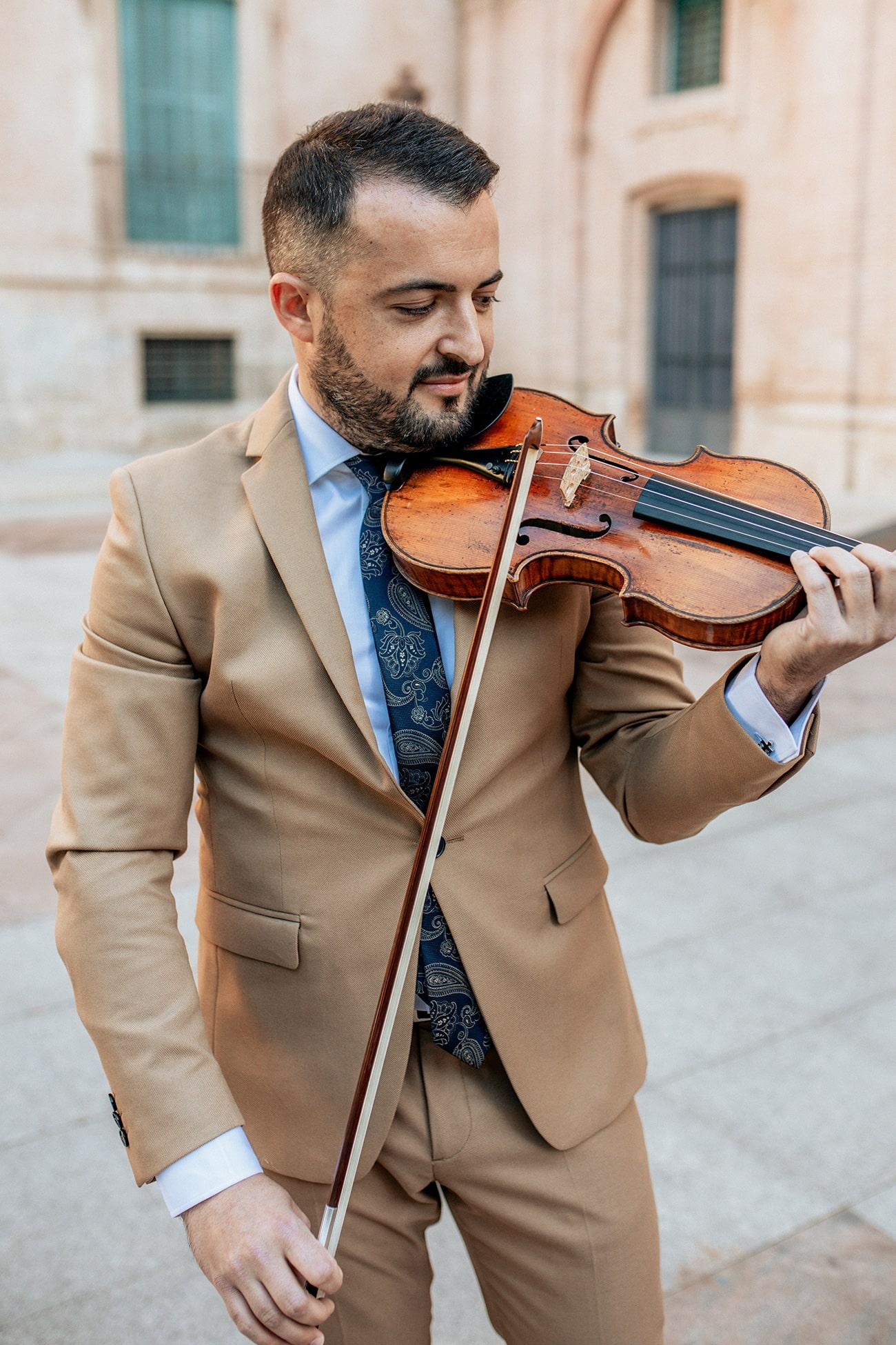 Jordi Rodríguez violinista