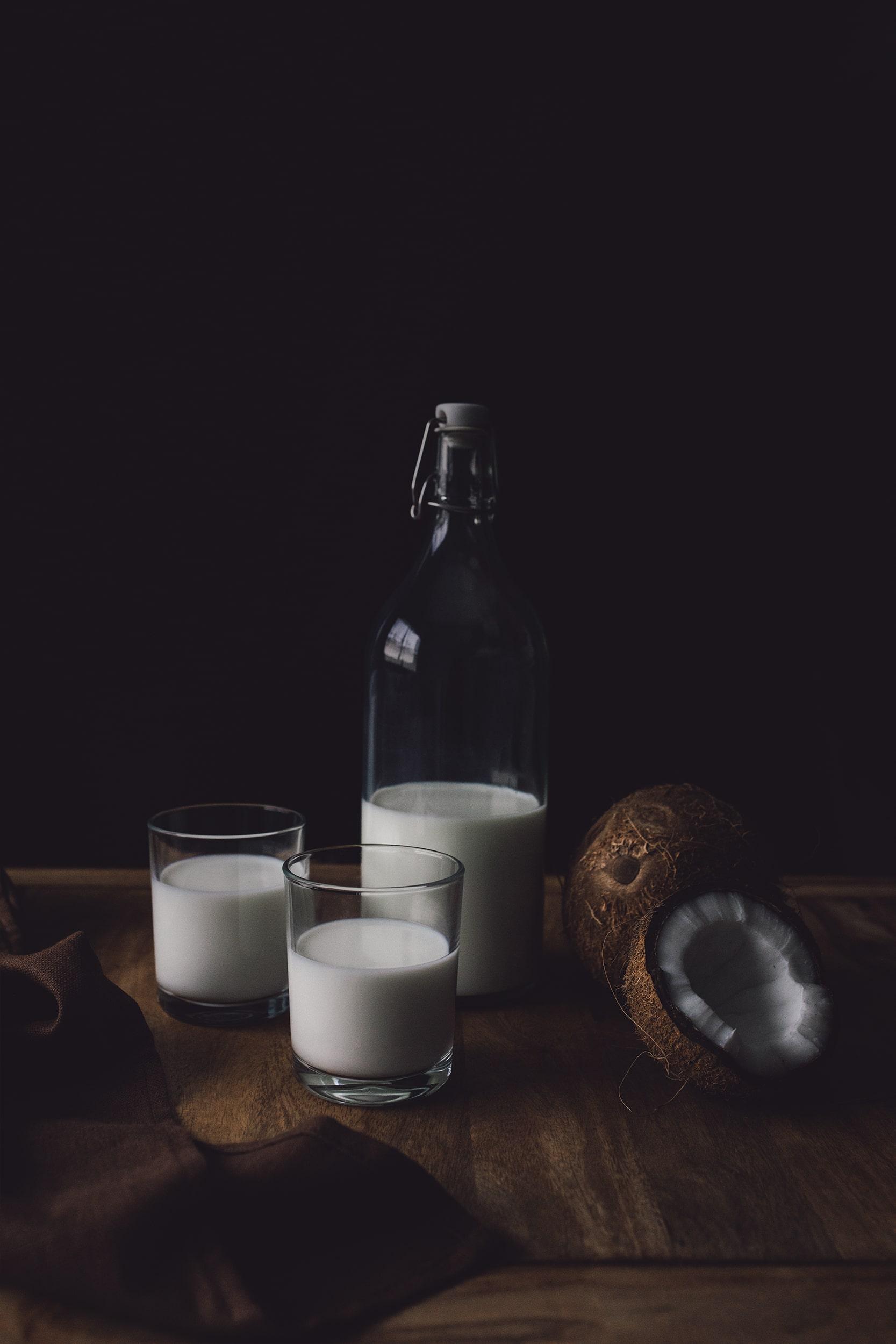 bodegón leche de coco
