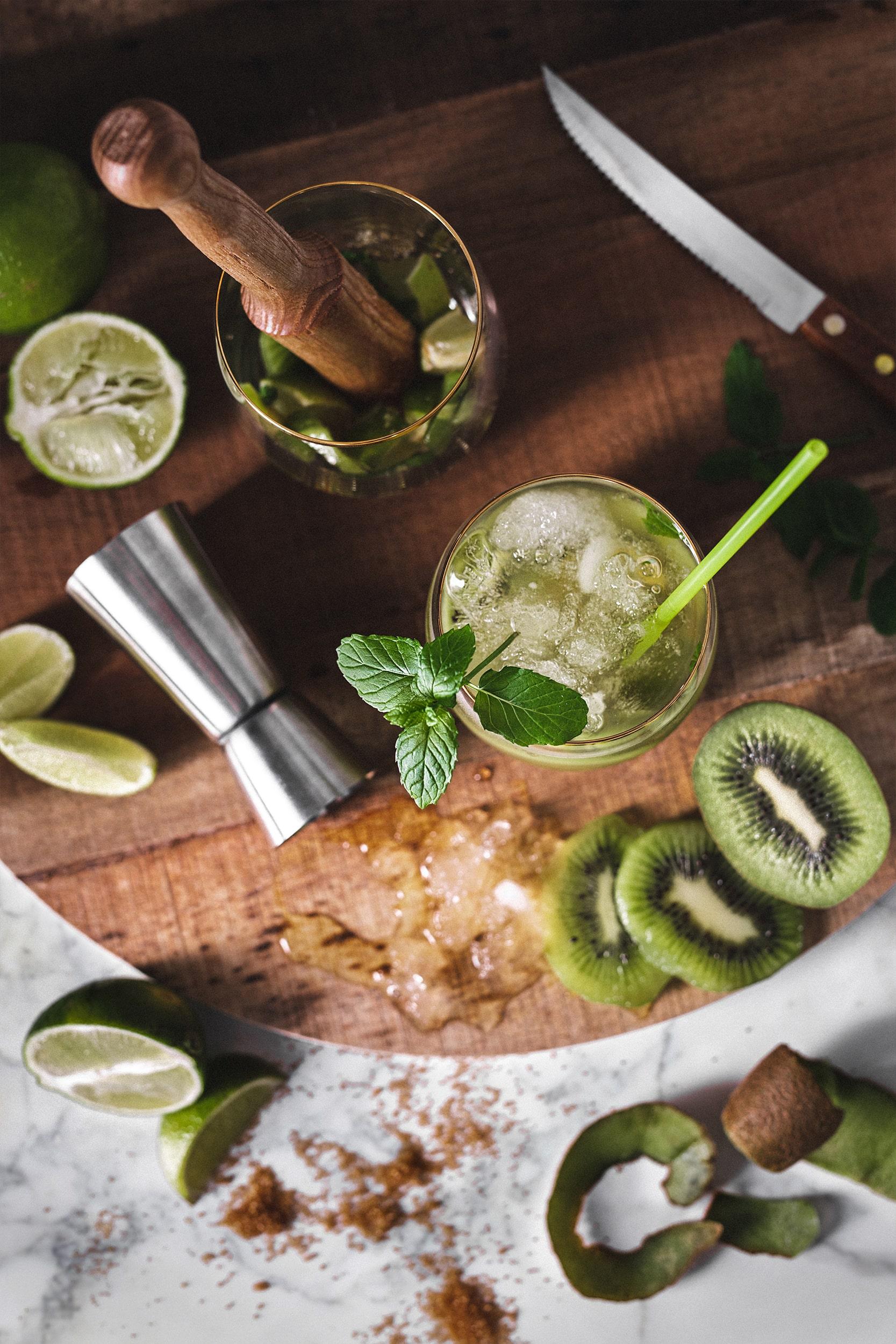 mojito de kiwi