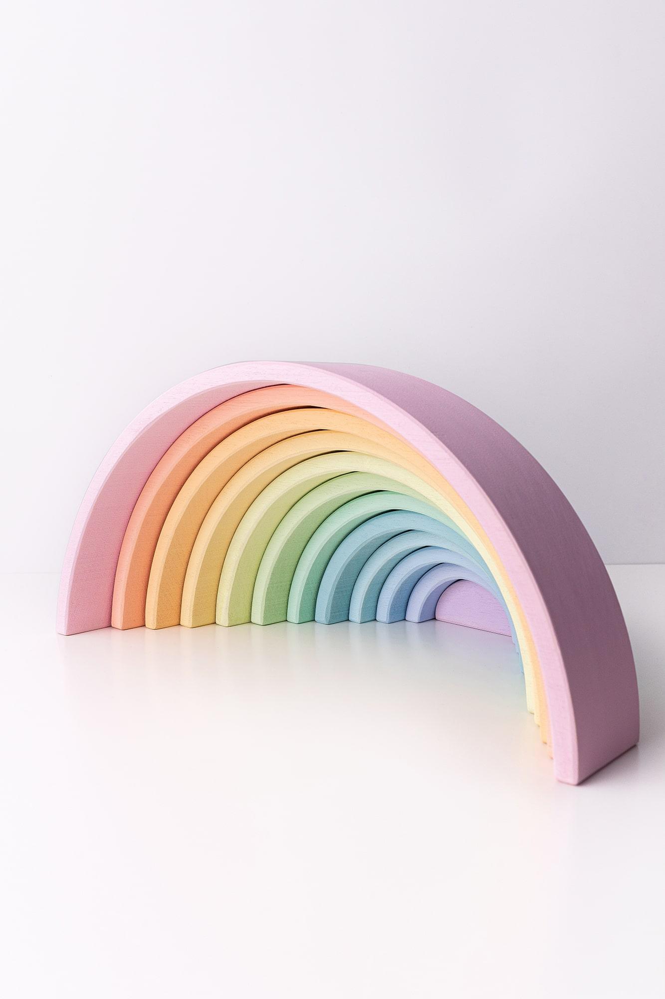 arcoiris madera