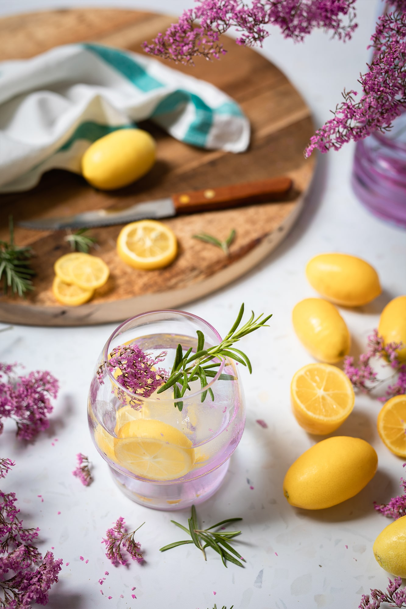limonada casera limequat