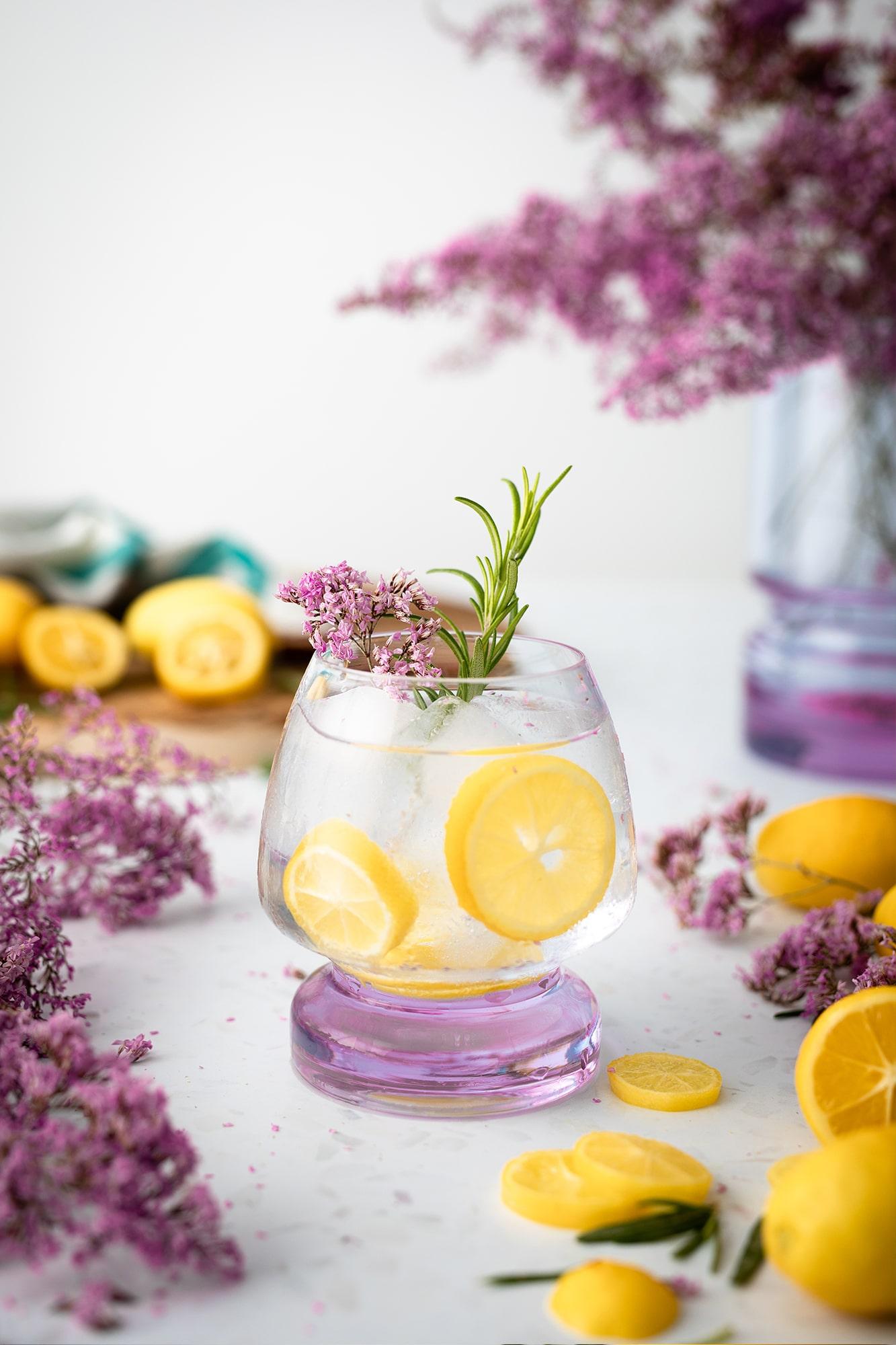 limonanda con lilas