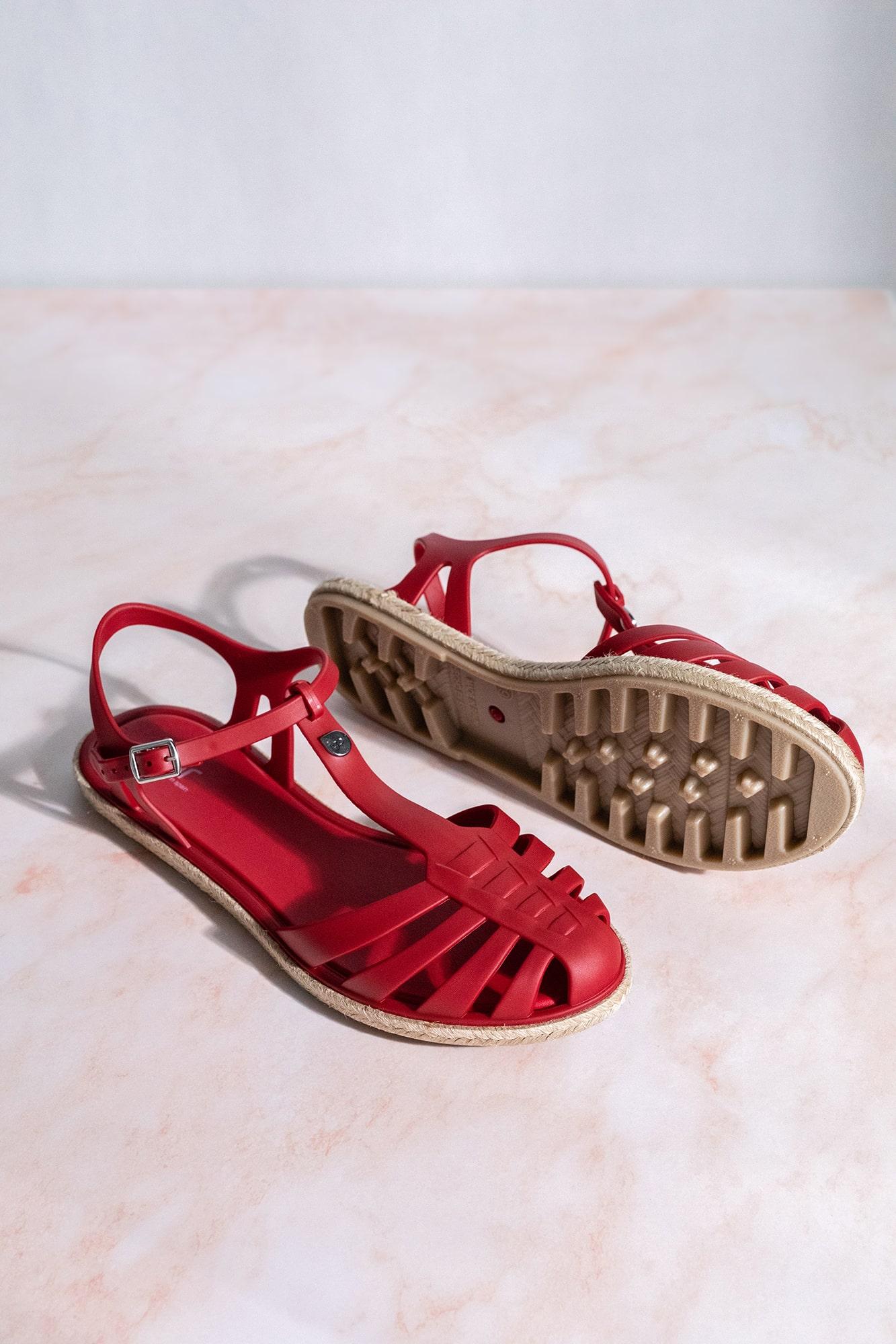 cangrejeras rojas Igor Shoes
