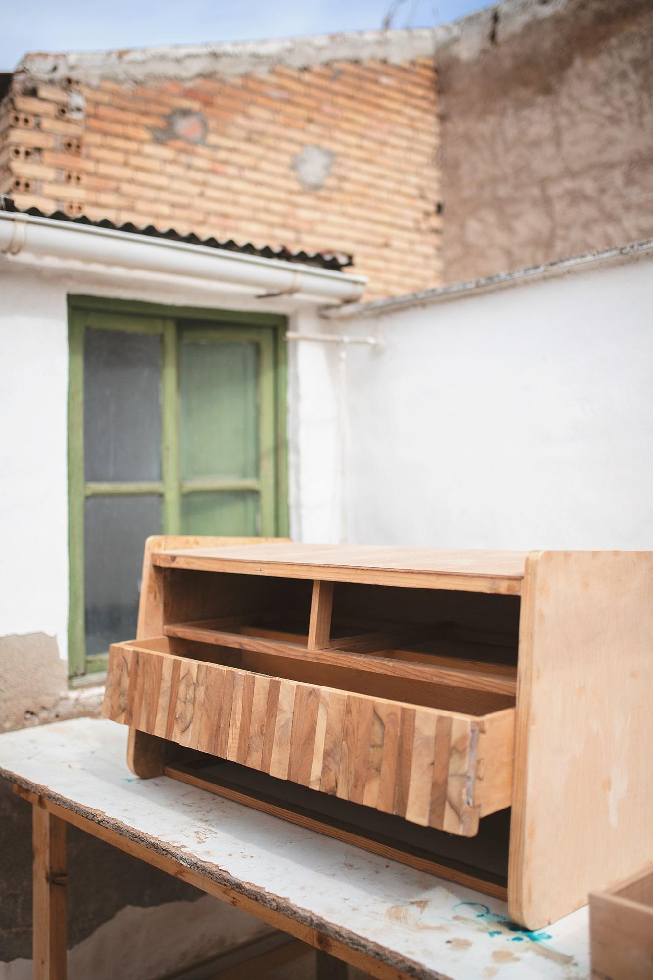 mueble recuperado en Murcia