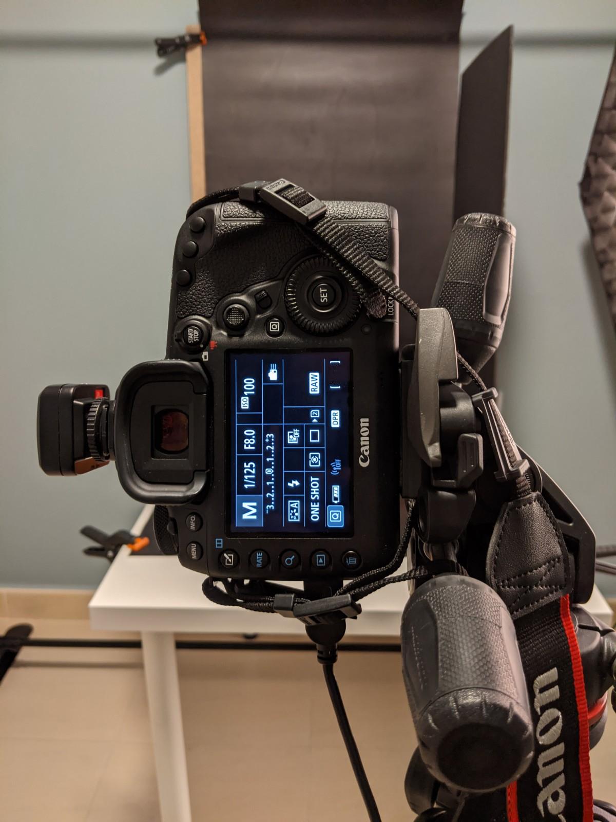 parámetros cámara fotografía