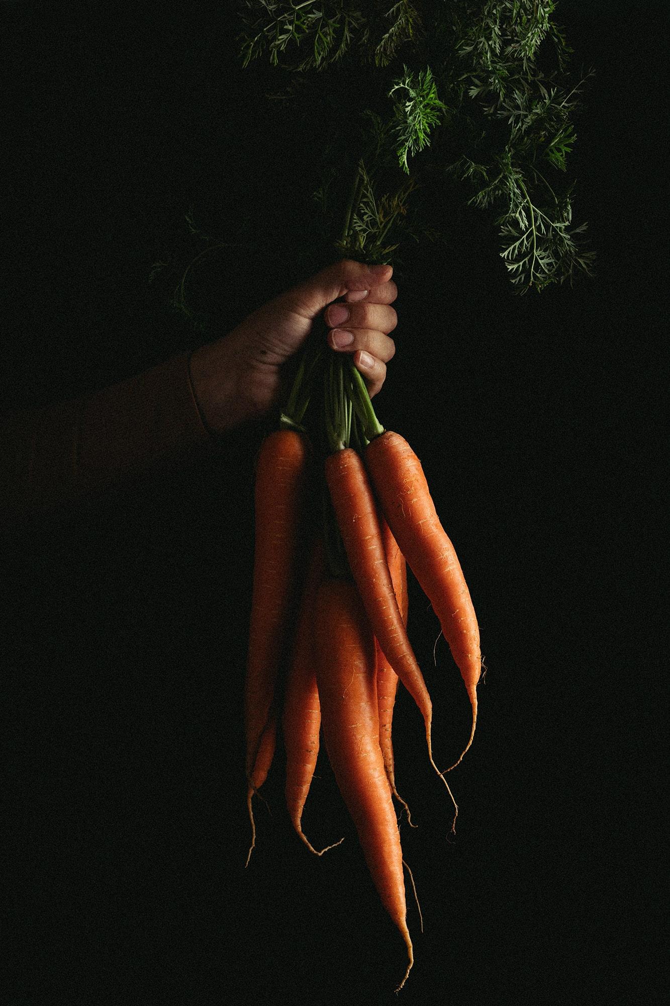 fotografía verduras