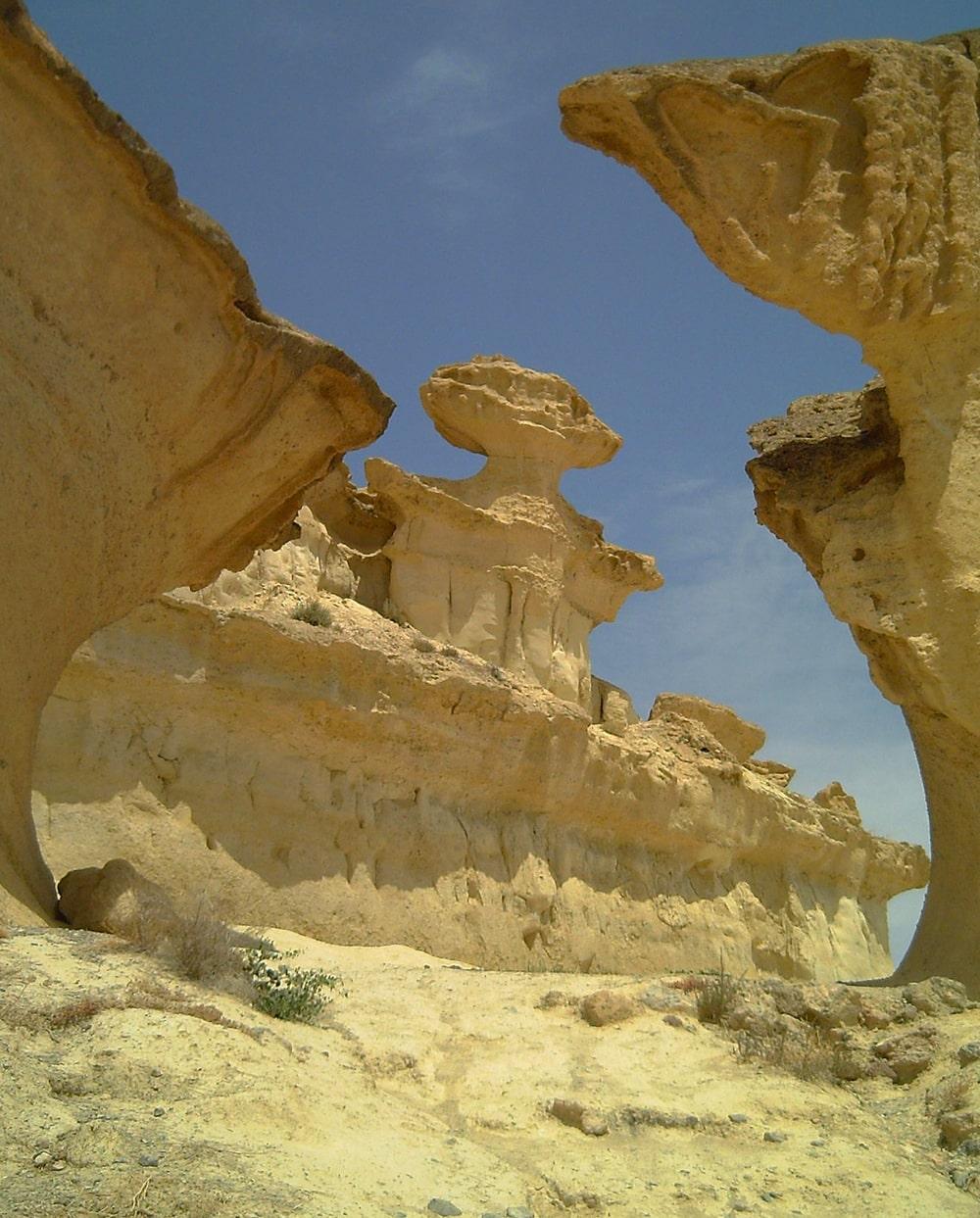 Erosiones Bolnuevo Murcia