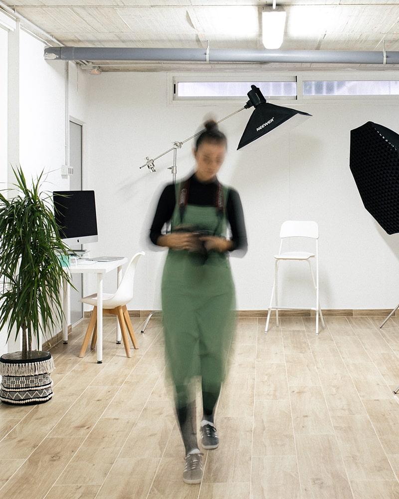 equipo fotografía profesional