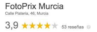 opiniones fotoprix Murcia