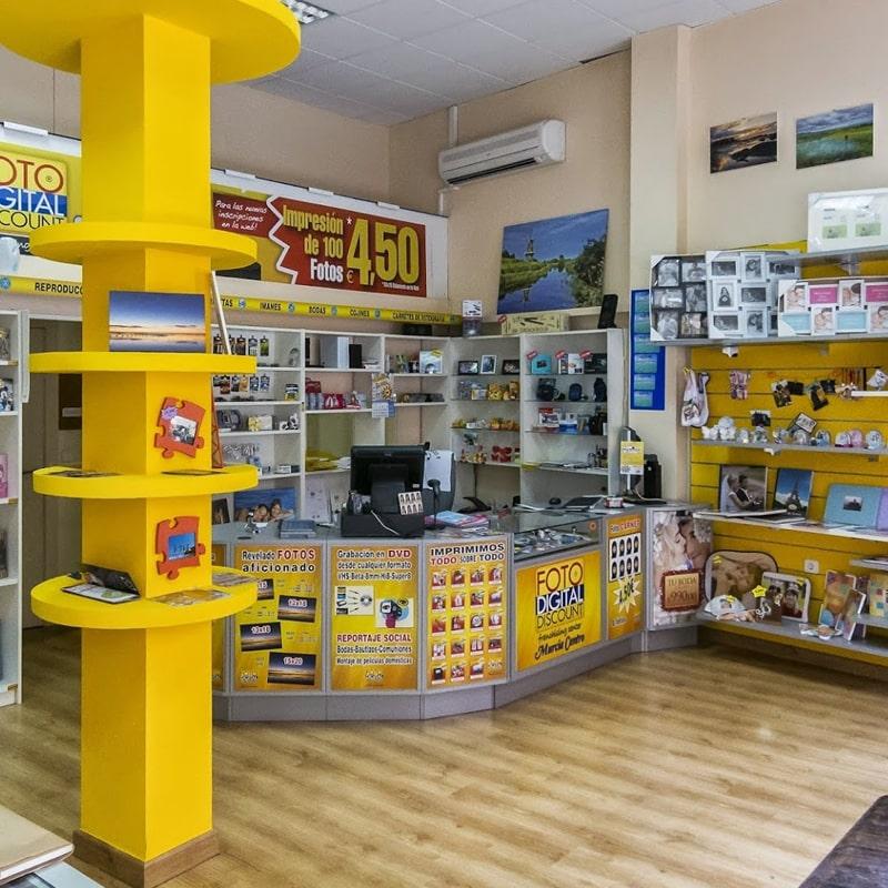tiendas fotografía Murcia