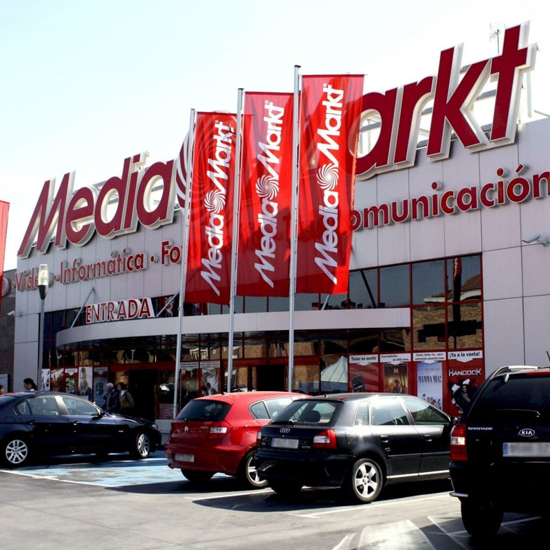 tienda Mediamarkt fotografía