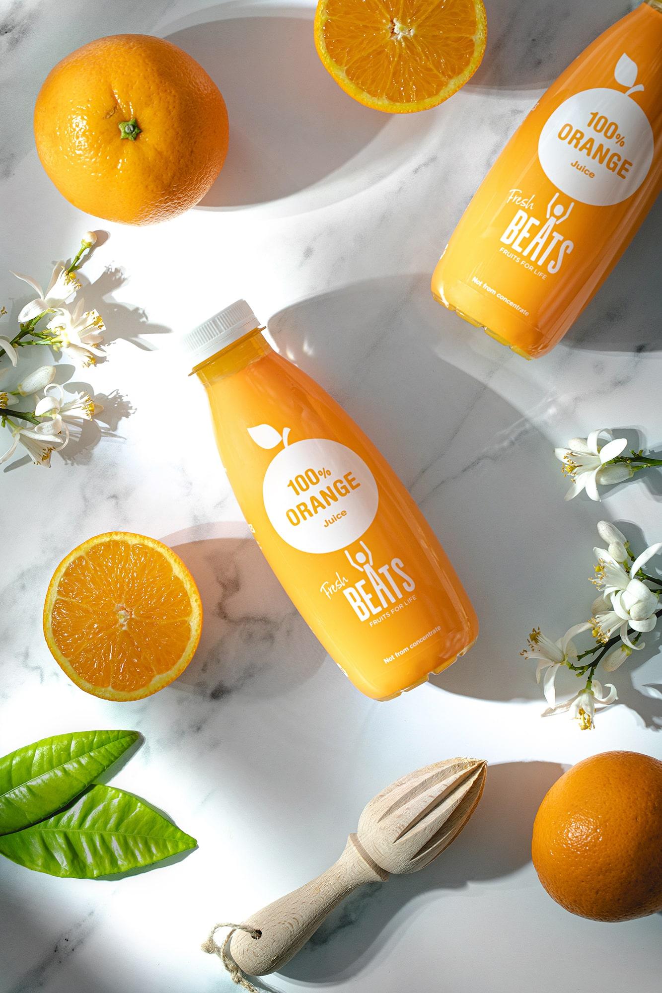 zumo natural naranja