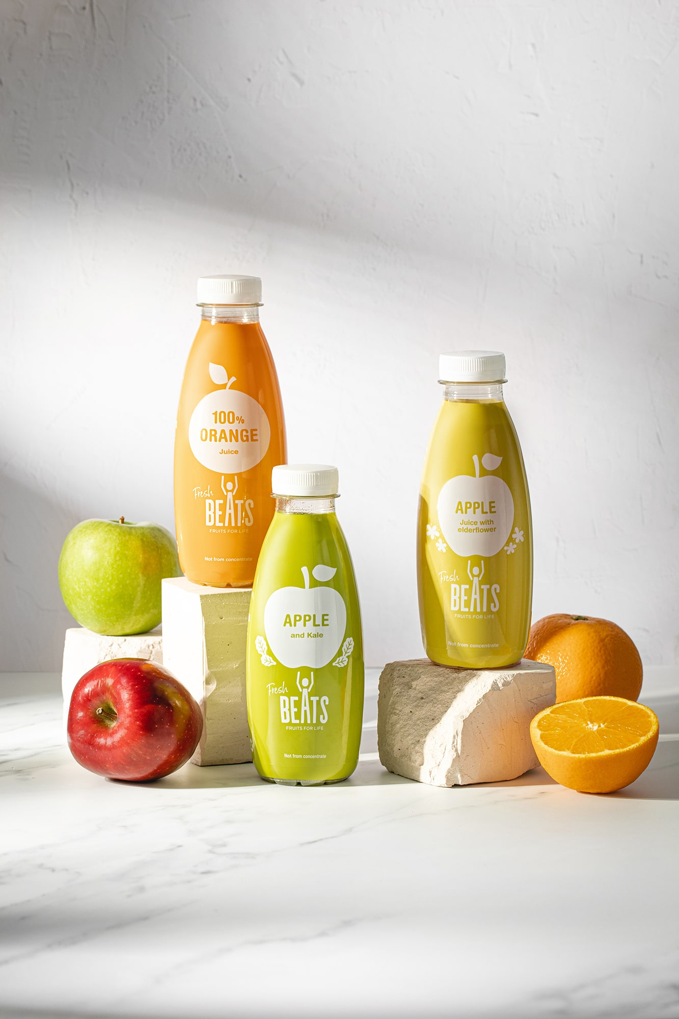 zumos de frutras naturales