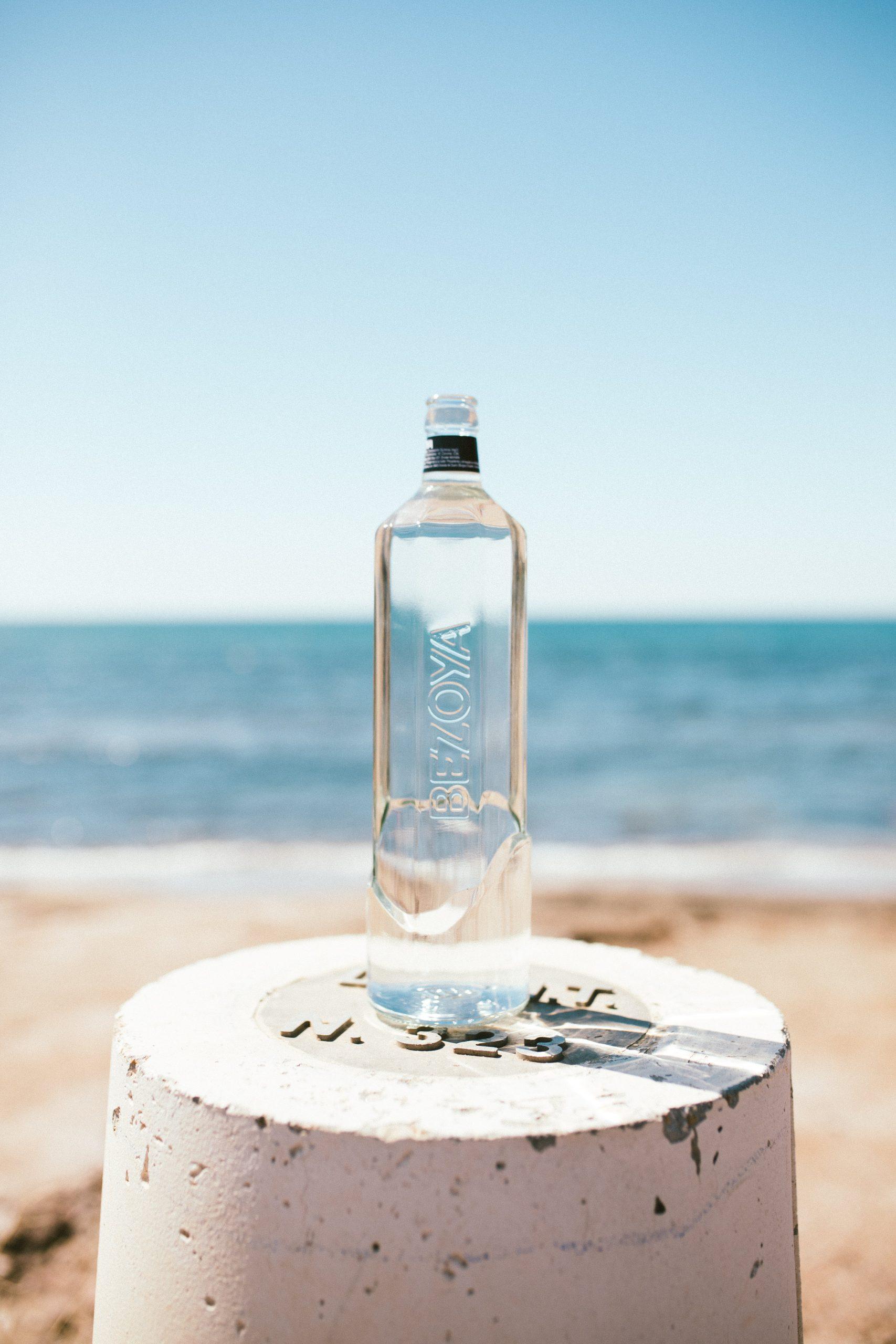 Botella vidrio Bezoya