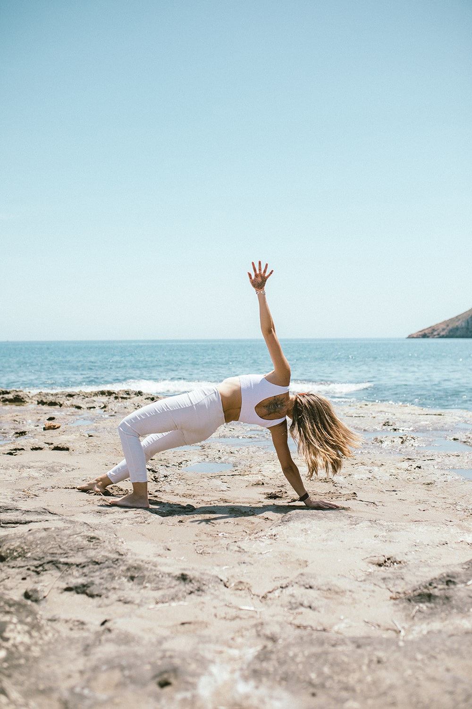 maestra de yoga en Murcia