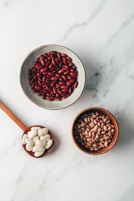 legumbres y alubias