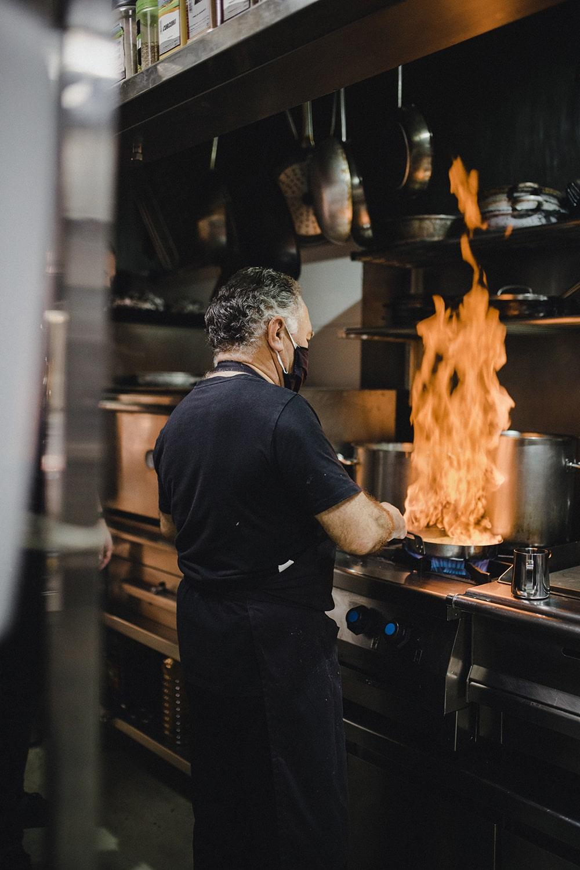 cocina restaurante Por Herencia